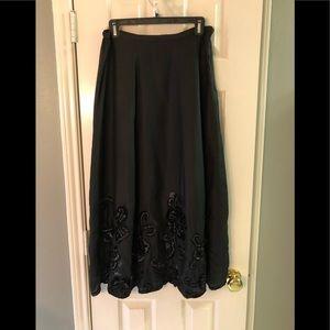 Chico's Pretty, Black Skirt